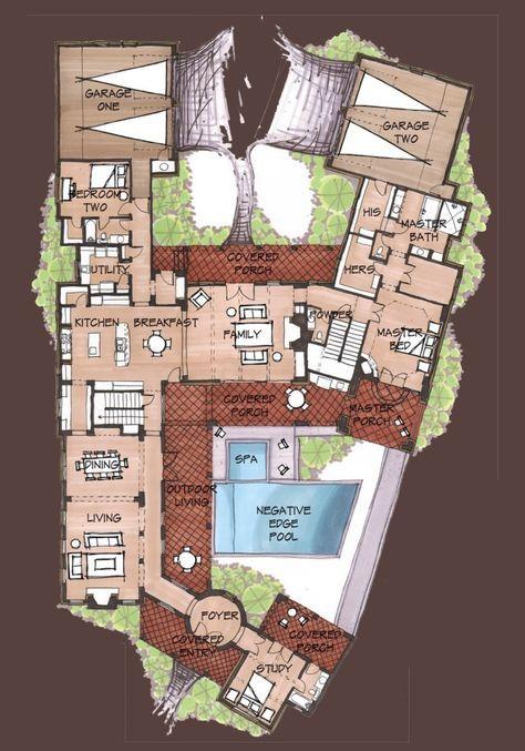 First Floor Dream House Plans Floor Plan Design House Floor Plans