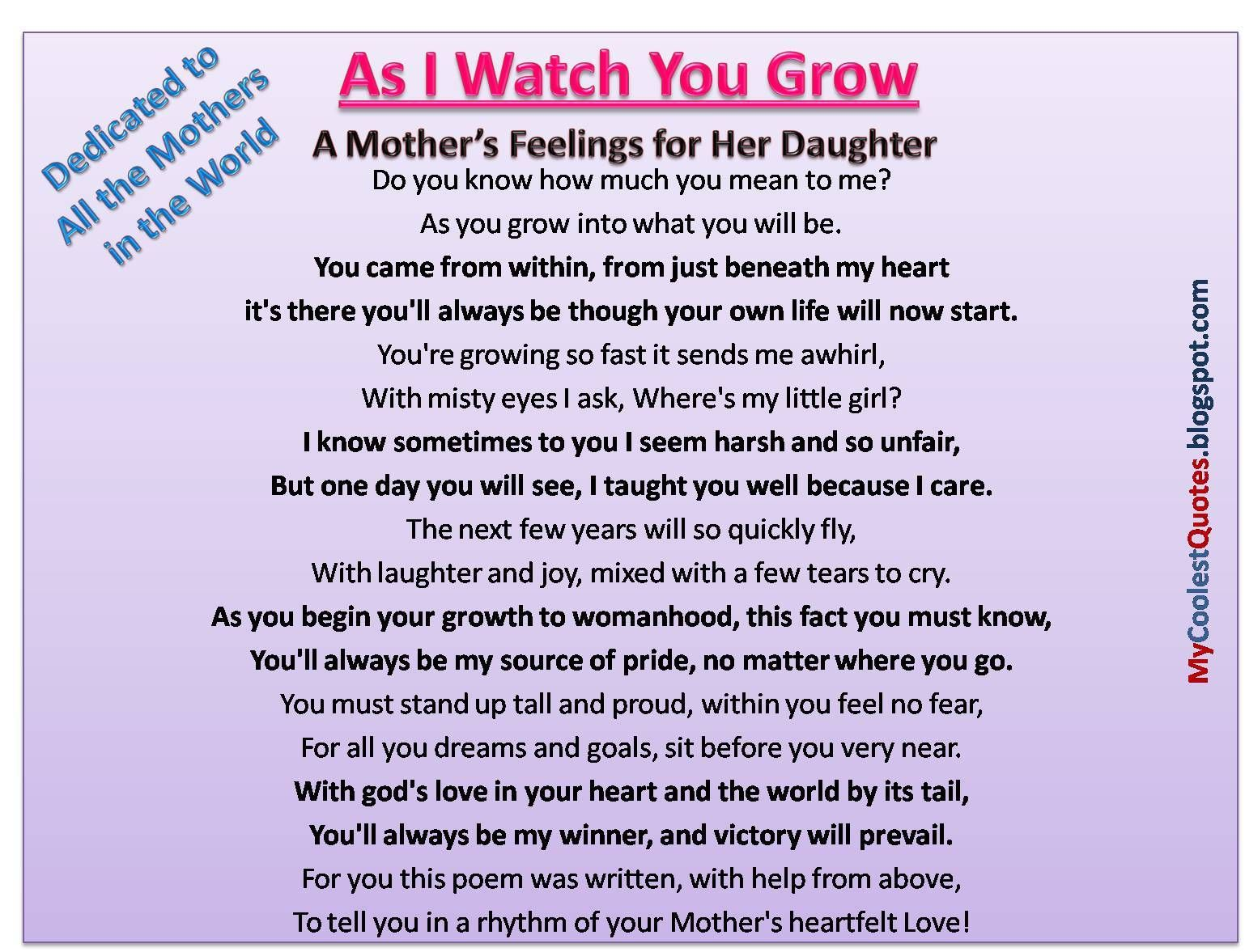 Love For Daughter Quotes Love For Mother Quotes From Daughter  Quotes For Mom  Pinterest