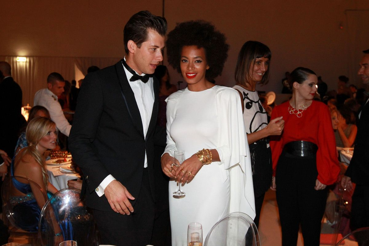 Mark Ronson and Solange Knowles in Rubin Singer
