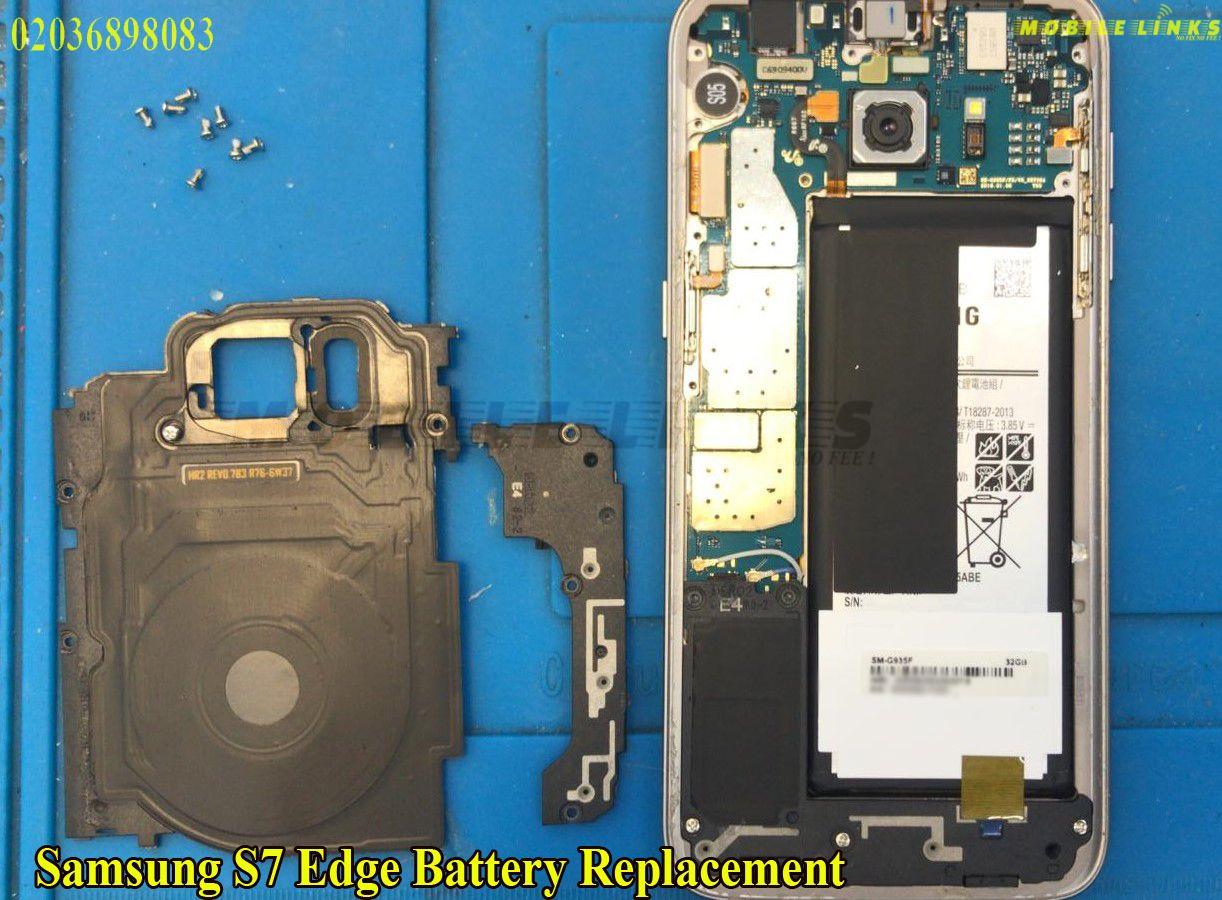 Samsung S7 Edge Battery Replacement Repair at Mobile Links