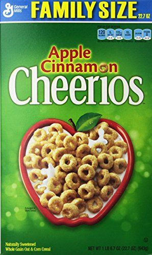 Apple Cinnamon Cheerios Box 227 Ounce >>> Learn more by visiting the image link. Note: It's an affiliate link to Amazon.
