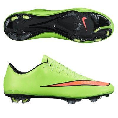 Nike Mercurial Vapor X in Lime Green