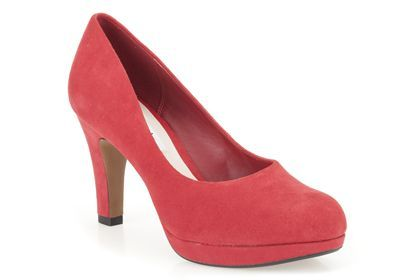 ba01b5c32688 Womens Smart Shoes - Crisp Kendra in Red Suede from Clarks shoes