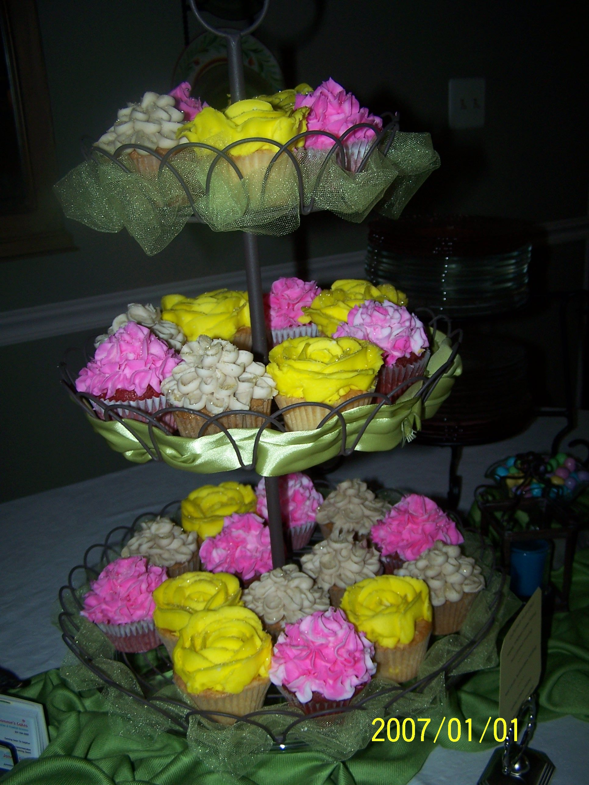 Cupcakes from Jammie's Cakes