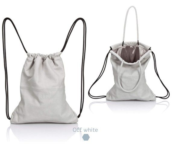 c09cd93f095fe White Backpack - leather backpack purse SALE multi way leather back bag  women leather handbag cinch