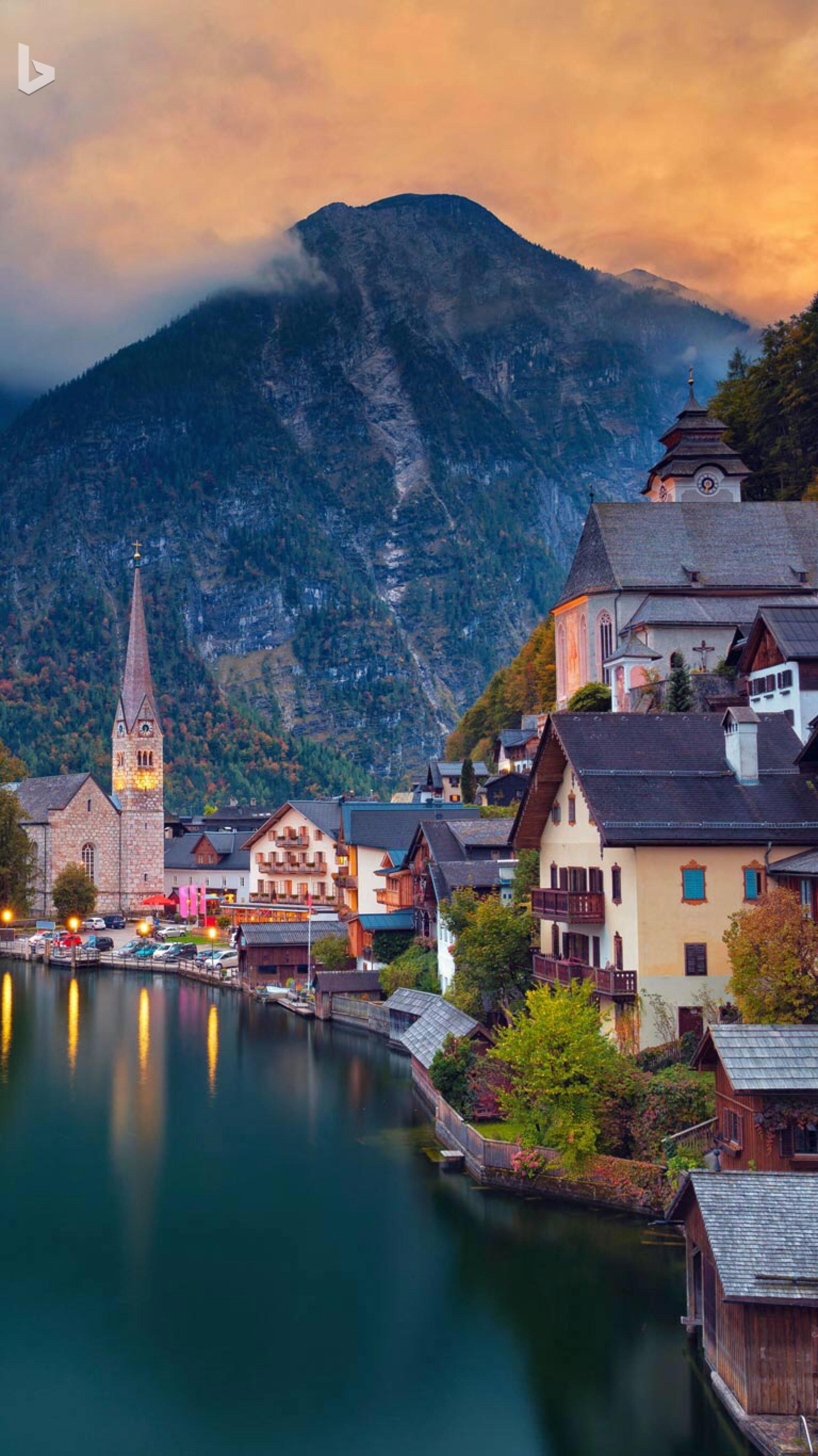 Halstatt, Austria Beautiful places to visit, Most