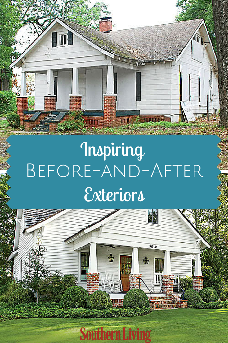 Before-and-After Home Exteriors