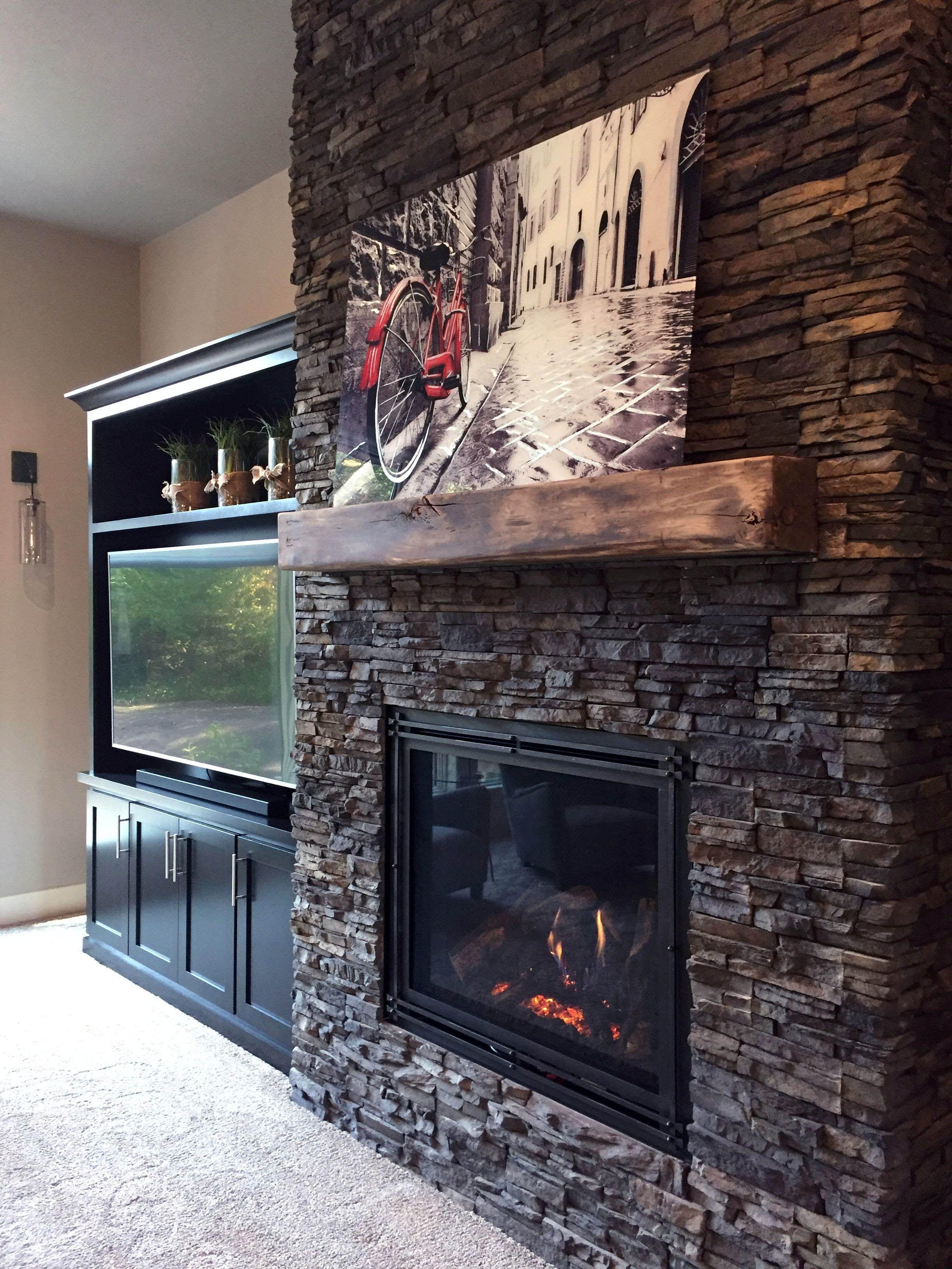 Pin By Ellen Lambert On Fireplace In 2020 Faux Stone Fireplaces