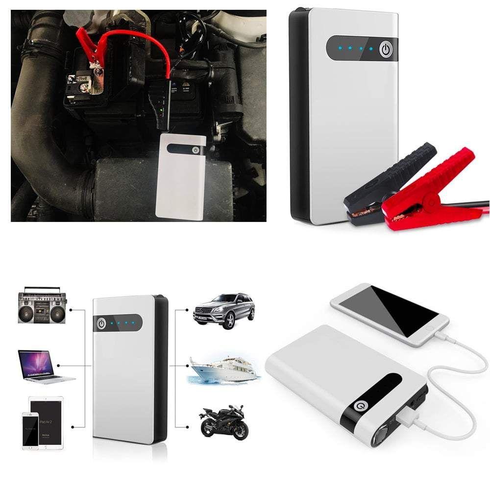 Battery resq portable car battery jump starter 12v