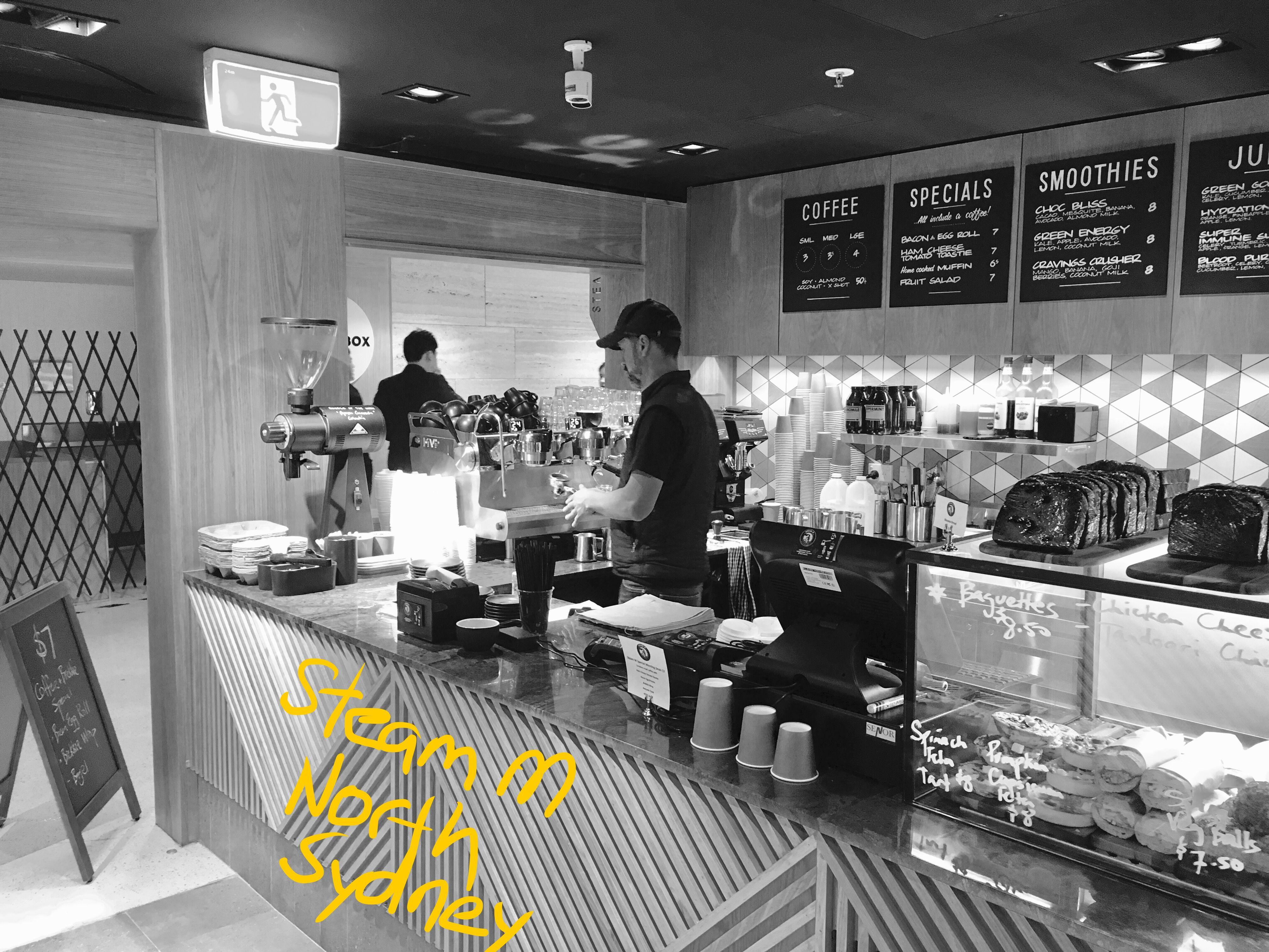 Steam M North Sydney Coffee 5 Senses 8 10 Coffeetone