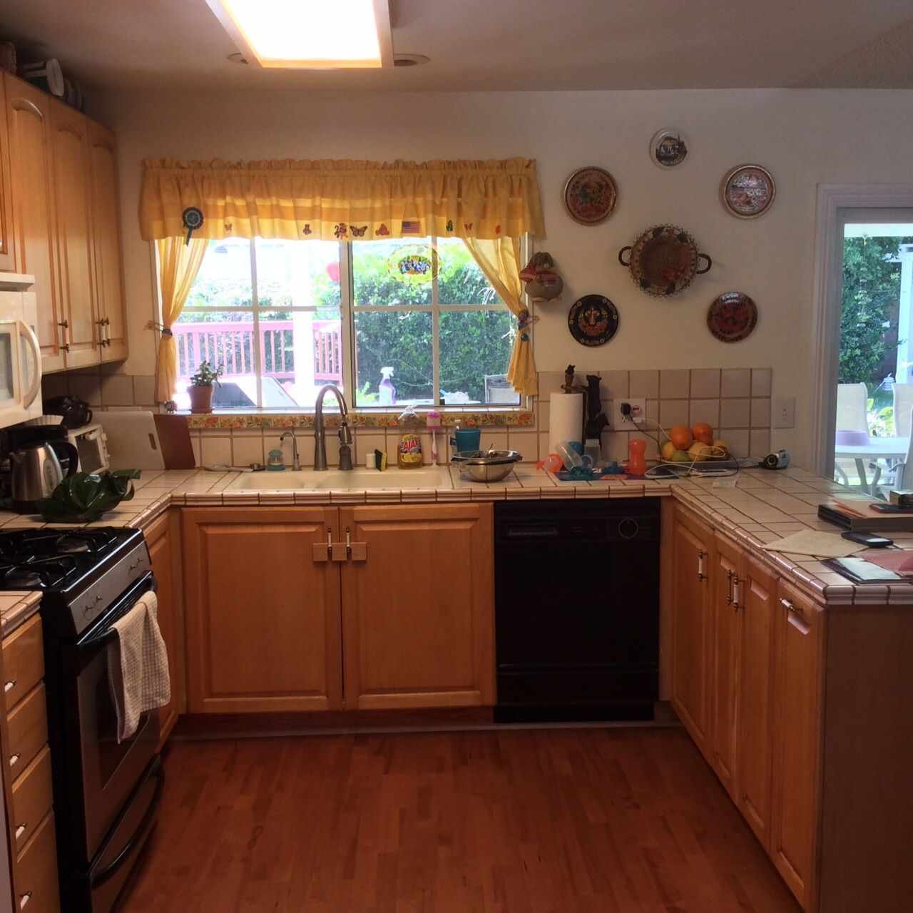 Simi Valley Kitchen space BEFORE Simi Valley