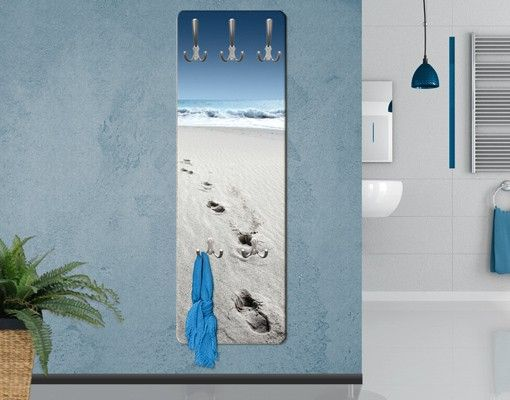 Garderobe Spuren Im Sand Maritim Wandgarderobe Haus Am Meer