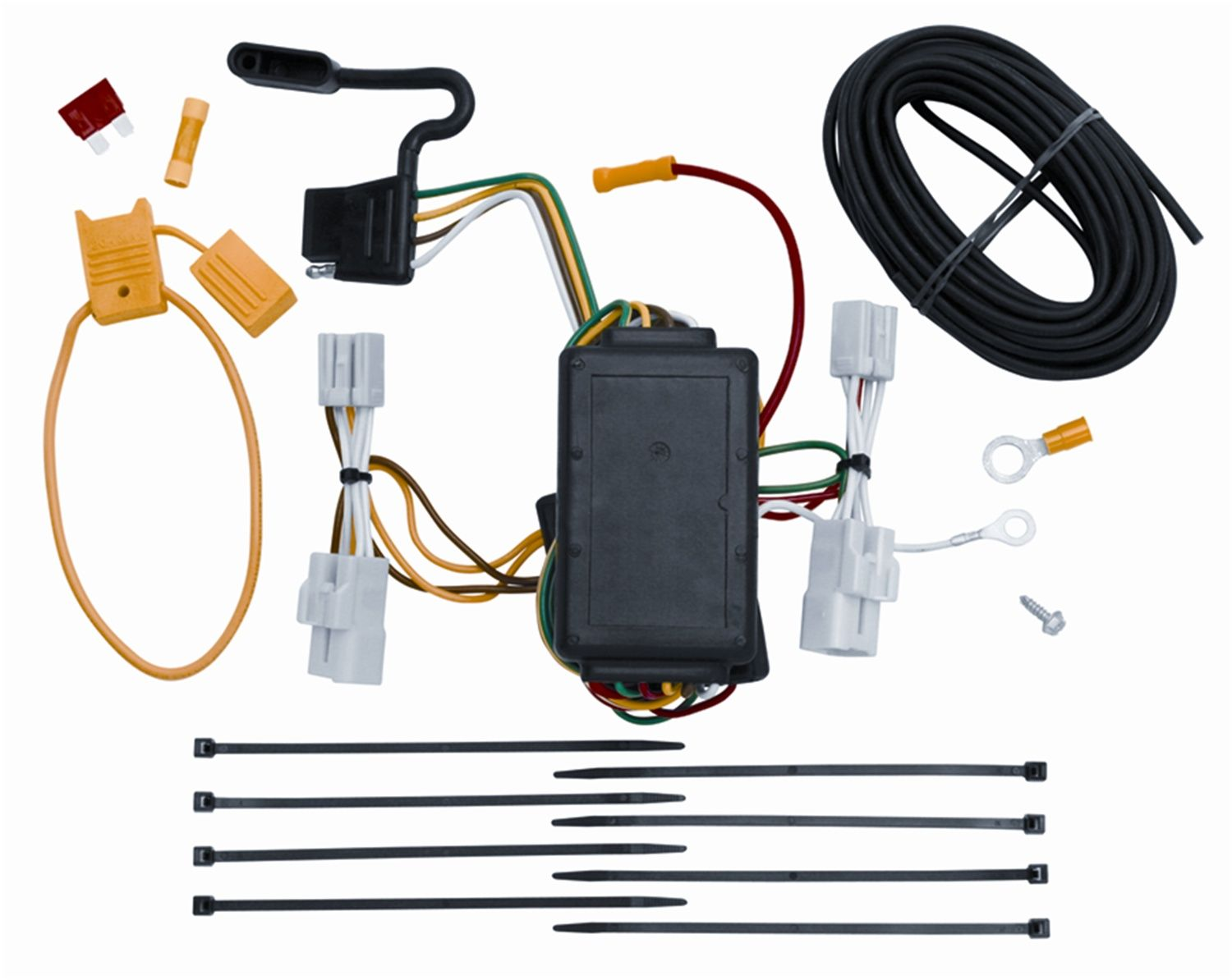 Vehicle To Trailer Wiring Harness Connector For 06-12 Toyota RAV4 Plug Play  * For more information, visit image link.