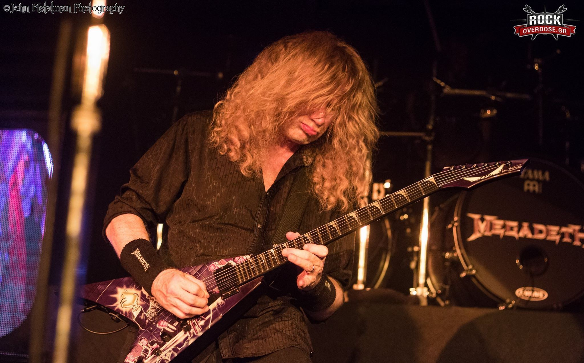 Dave Mustaine, Athens 2016