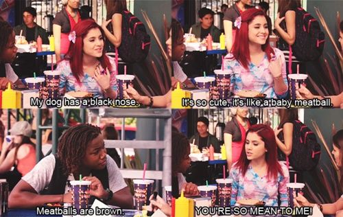 """""""You're So Mean To Me!"""" Victorious Cats, Cat Valentine"""