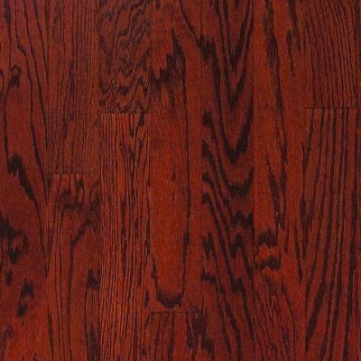 Oak Bordeaux Red 34 In Thick X 3 14 In Wide X Random Length