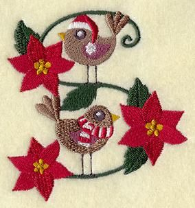 Machine Embroidery Designs at Embroidery Library! - Birds of Christmas