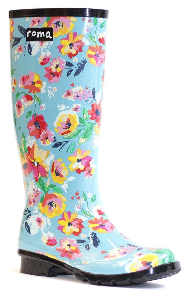 so cute -- RIBBLE Womens Premium Rain Boots | My Style | Pinterest ...