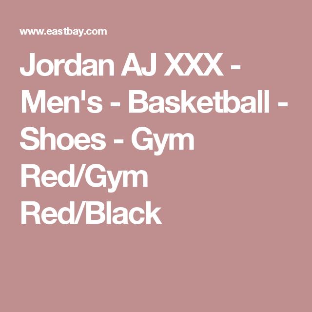 Jordan AJ XXX - Men's - Basketball - Shoes - Gym Red/Gym Red/Black