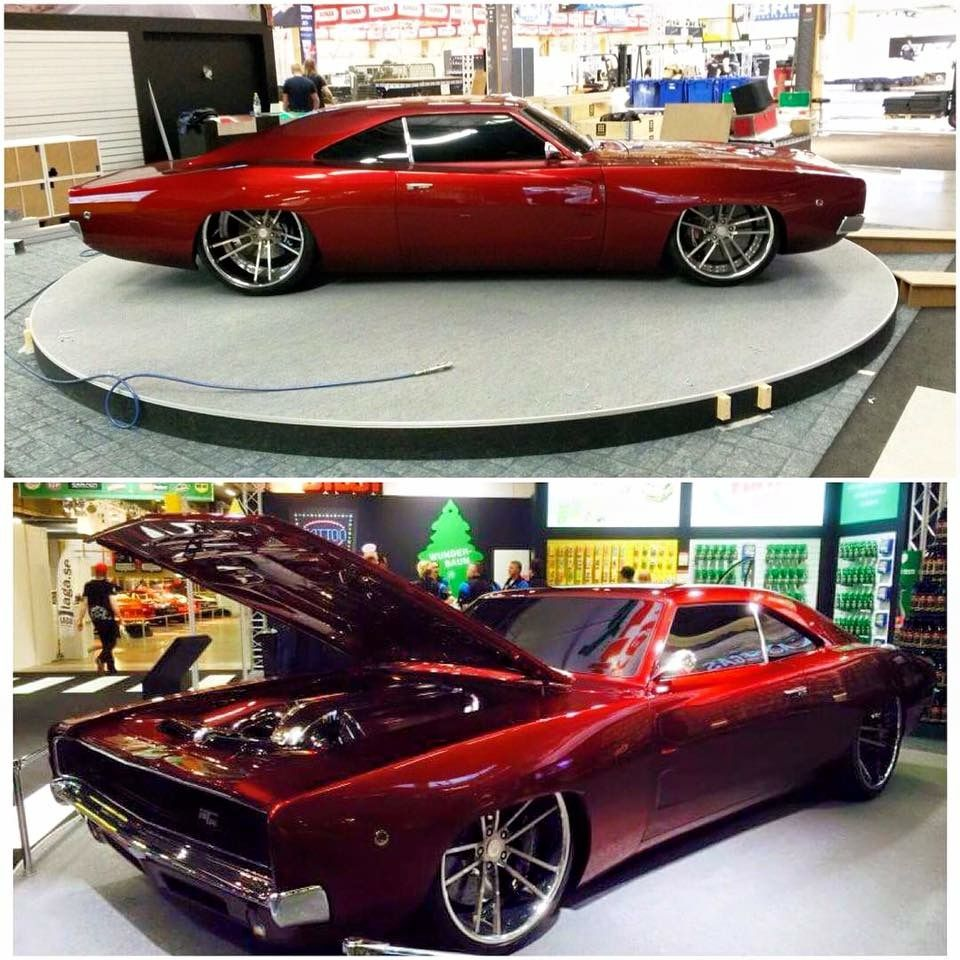 Letty Johan Johan Eriksson From 1968 Dodge Charger Rtr Deepest 3pc Concave