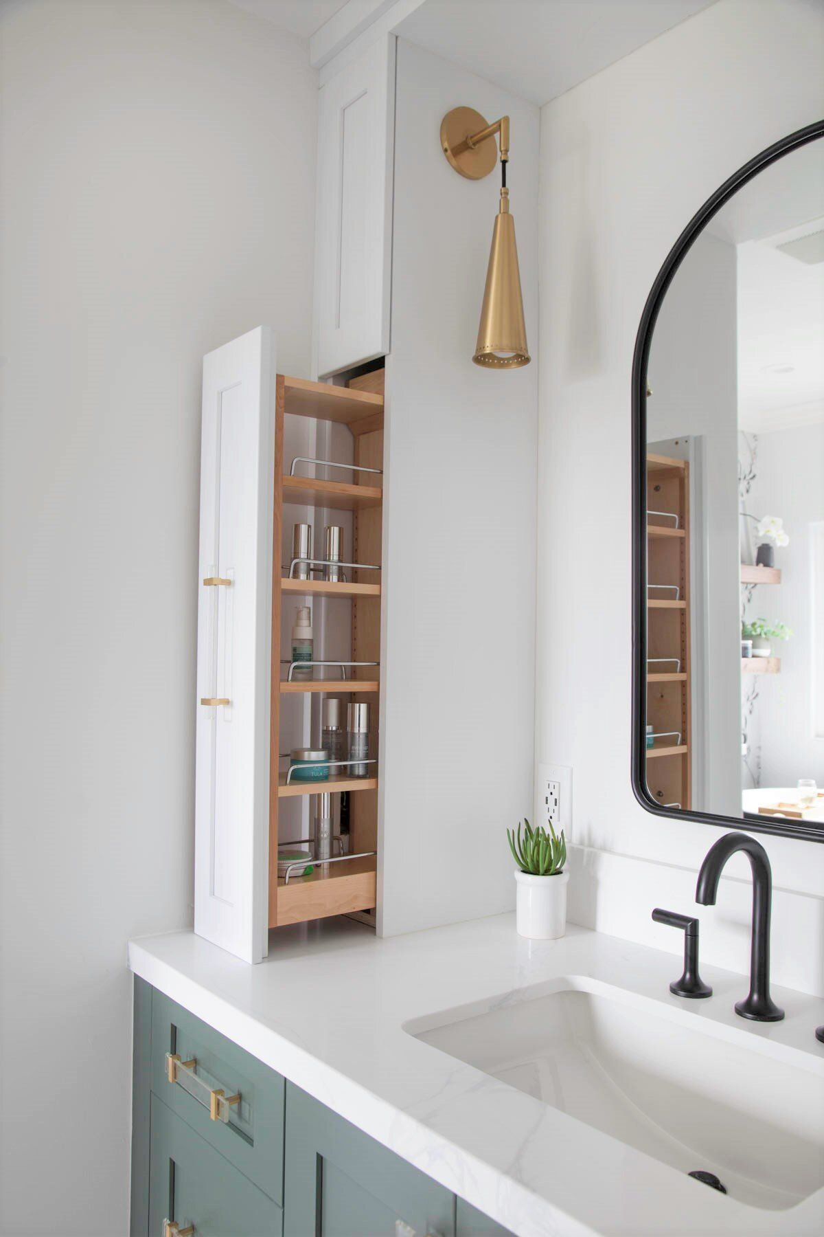 Photo of Houzz Bathroom of the Week: Modern Farmhouse and a Nod to Nature | Signature Designs Kitchen Bath