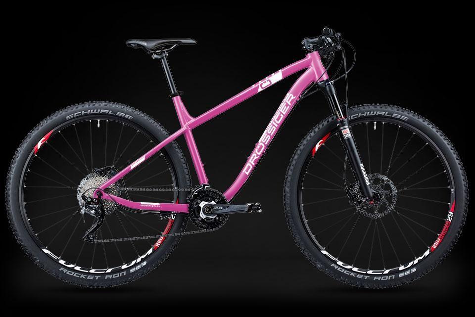 Konfiguriertes Fahrrad