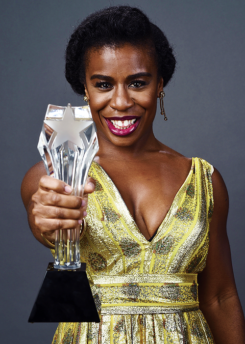 Uzo Aduba, winner of the Best Guest Performer in a Comedy Series award for 'Orange Is the New Black,' poses for a portrait during the 4th Annual Critics' Choice Television Awards at The Beverly Hilton Hotel on June 19, 2014 in Beverly Hills, California.