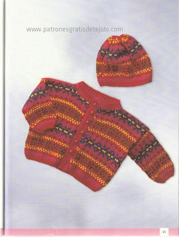 50 Prendas para Tejer el Ajuar de tu Bebé / Descarga gratis | Crochet y Dos agujas