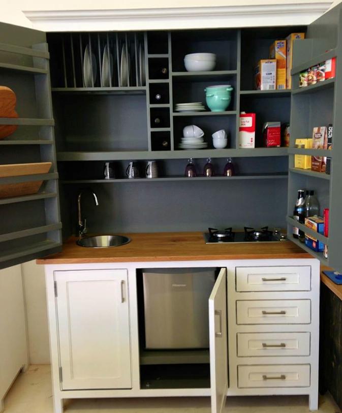 Pantry/larder, A Kitchen In A Cupboard, Such A Good Idea