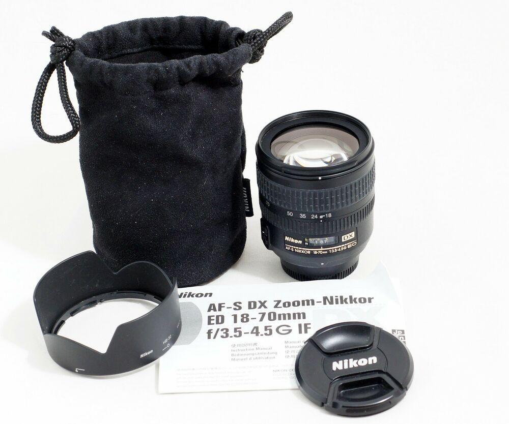 Nikon Afs 18 70mm 55 200mm Dx Lense For Nikon D40 50 60 3000 3200 3300 3400 5000 Ebay Nikon 3200 Nikon Nikon D3200