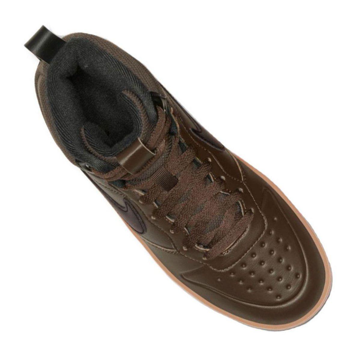 Nike Court Borough Mid 2 Boot Gs Jr Bq5440 200 Shoes Black Junior Shoes Black Shoes Nike Shoes Women