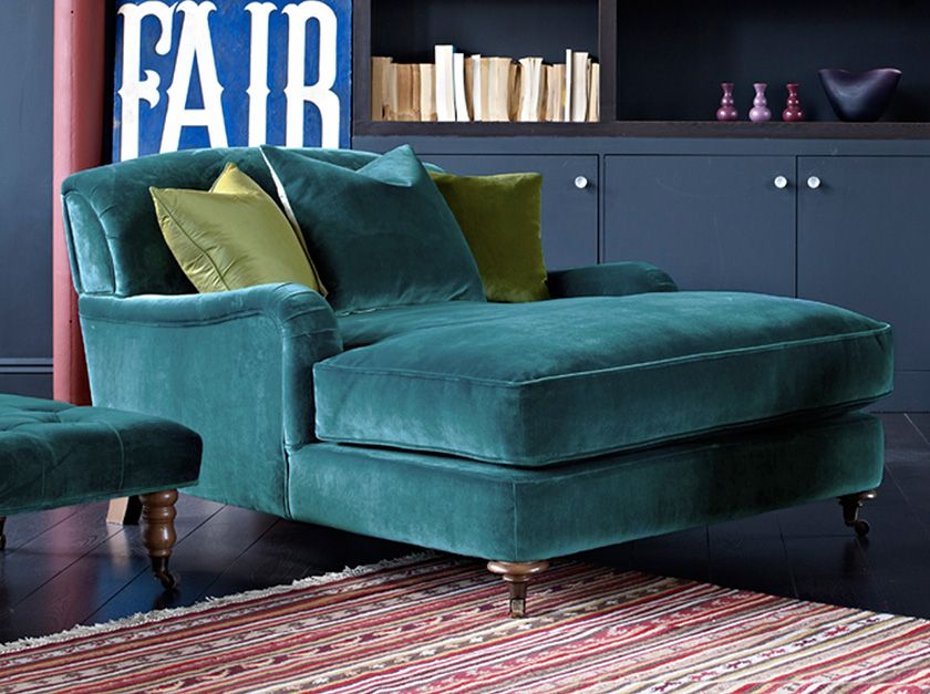 Forrest Sleeper Chair Turquoise Teal Chaise Seating