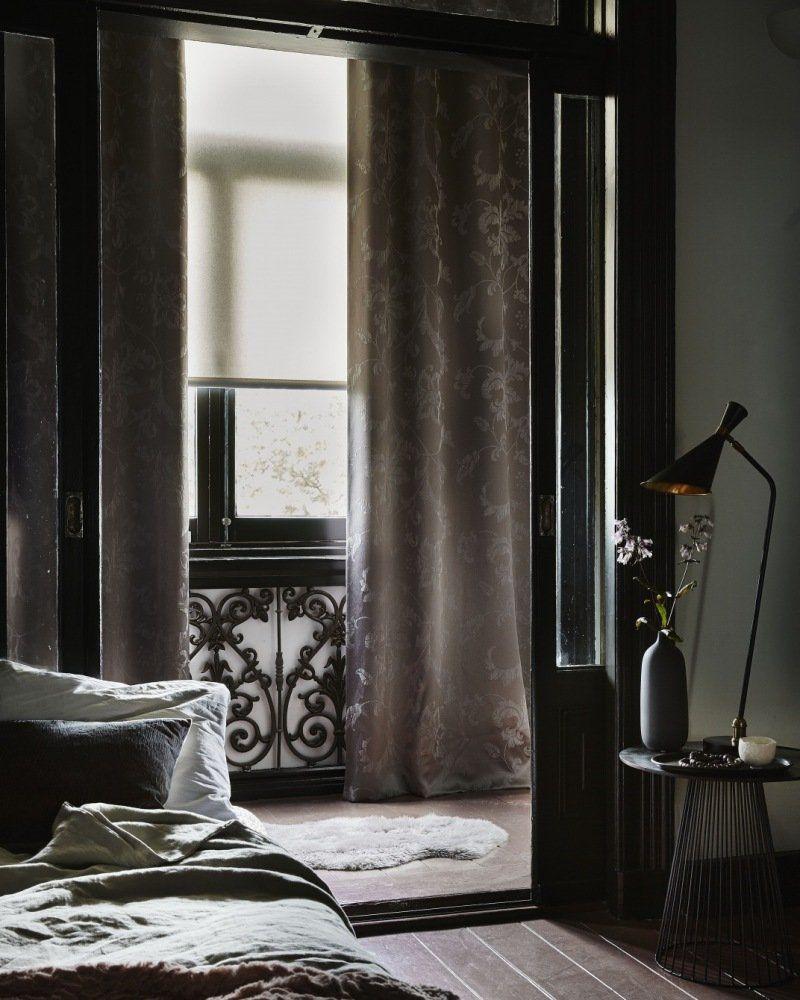 afbeeldingsresultaat voor velours gordijnen slaapkamer