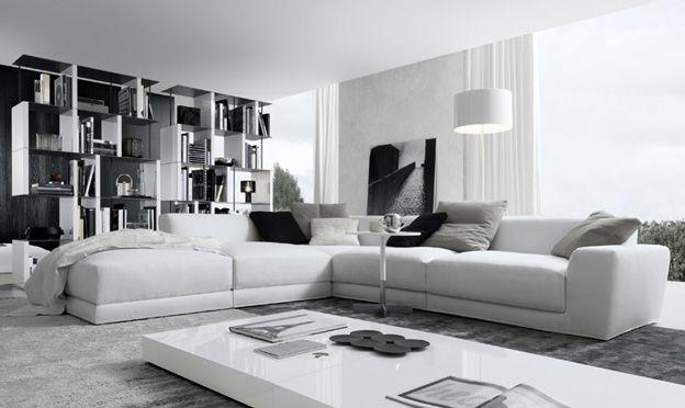 contemporary italian furniture. Pasha Corner White Contemporary Sofa Modern Italian Sofas By Jesse Interior Design Furniture -