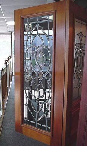 Custom Made Beveled Glass Doors New House Building Ideas