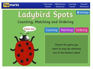 Techy Tuesday....Topmarks Ladybirds | Learn to count, Apps for ...