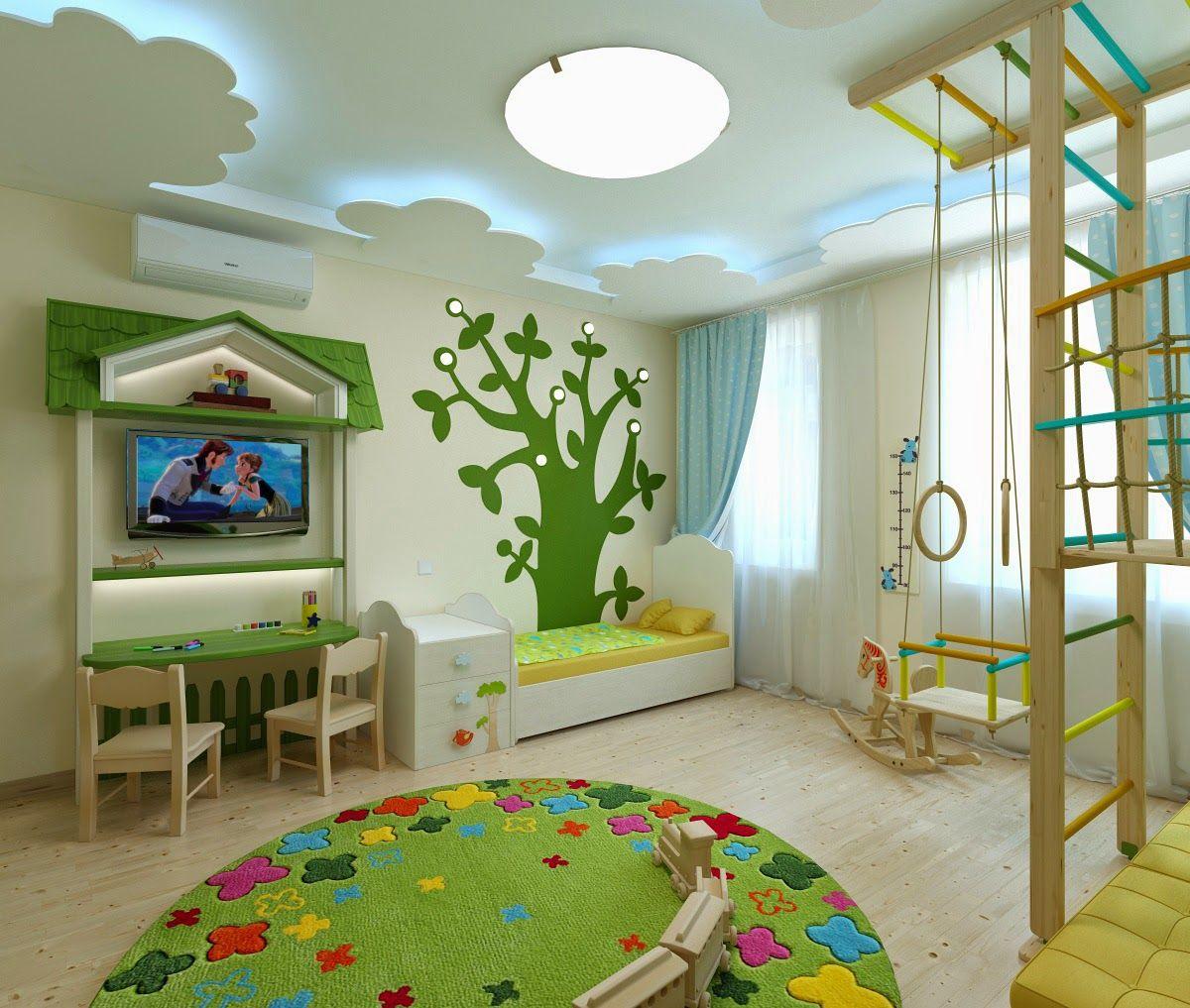дизайн интерьера и 3d визуализация Kinderzimmer Pinterest