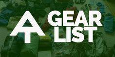 Photo of Appalachian Trail Thru-Hiker Gear List