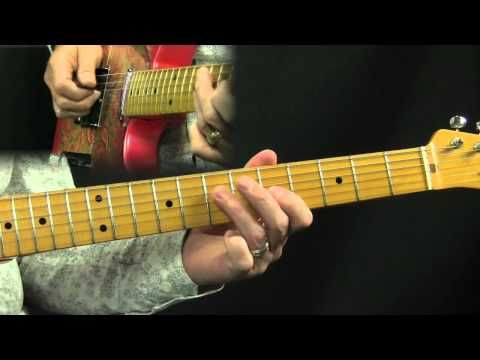 Chicken Pickin Riffin Country Guitar Lesson In The Style Of Brad