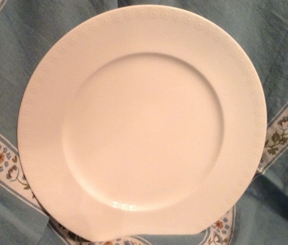 Dinnerware & Waterford Daisy Blanc Marc Jacobs 10 3/4 Inch Dinner Plate White ...