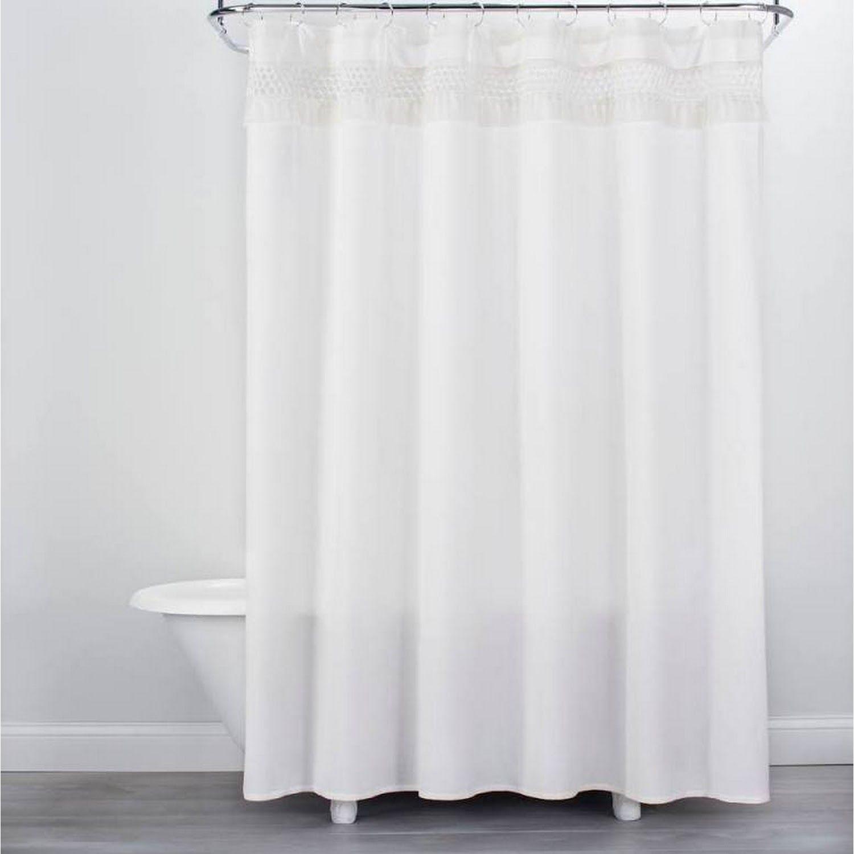 Google Express Macrame Shower Curtain Cream Opalhouse Sour Cream Cream Curtains Shower Curtain White Shower Curtain