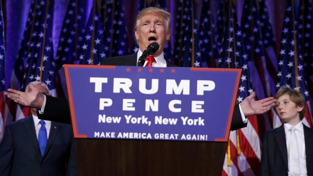 Las frases del discurso de Donald Trump al convertirse en presidente de Estados Unidos. – The Bosch's Blog