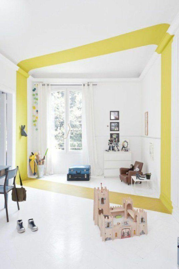 Gardinen für Kinderzimmer kreative Wandgestaltung | Architecture + ...