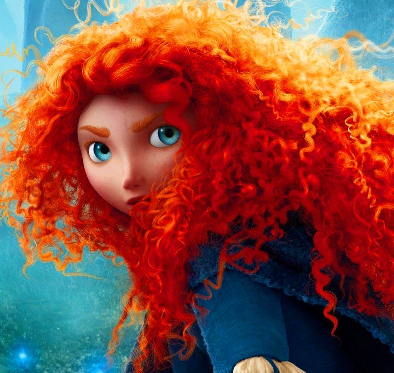 F is for flamebuoyant how pixar made meridas brave hair