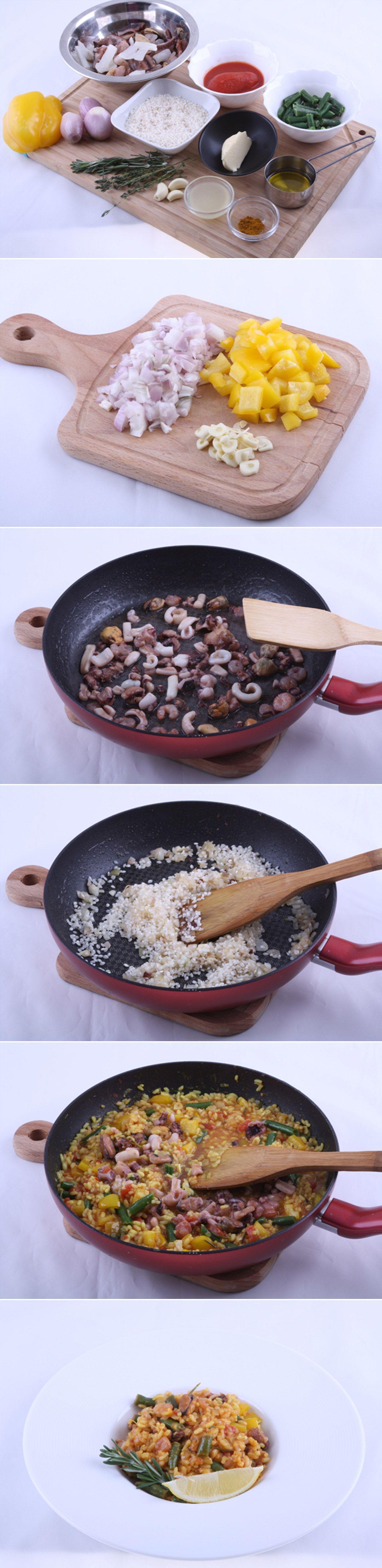 Паэлья с морепродуктами. Мы в DinnerDay уверены, что вам понравится этот адаптированный вариант, который хорош своей универсальностью. Если вам рецепт блюда кажется сложным, то спешим заверить, на самом деле это не так! Обязательно попробуйте приготовить! Рецепт...http://vk.com/dinnerday; http://instagram.com/dinnerday #паэлья #кулинария #рис #морепродукты #еда #овощи #рецепт #dinnerday #food #cook #recipe #paella #cookery #rice #vegetables #sea_food