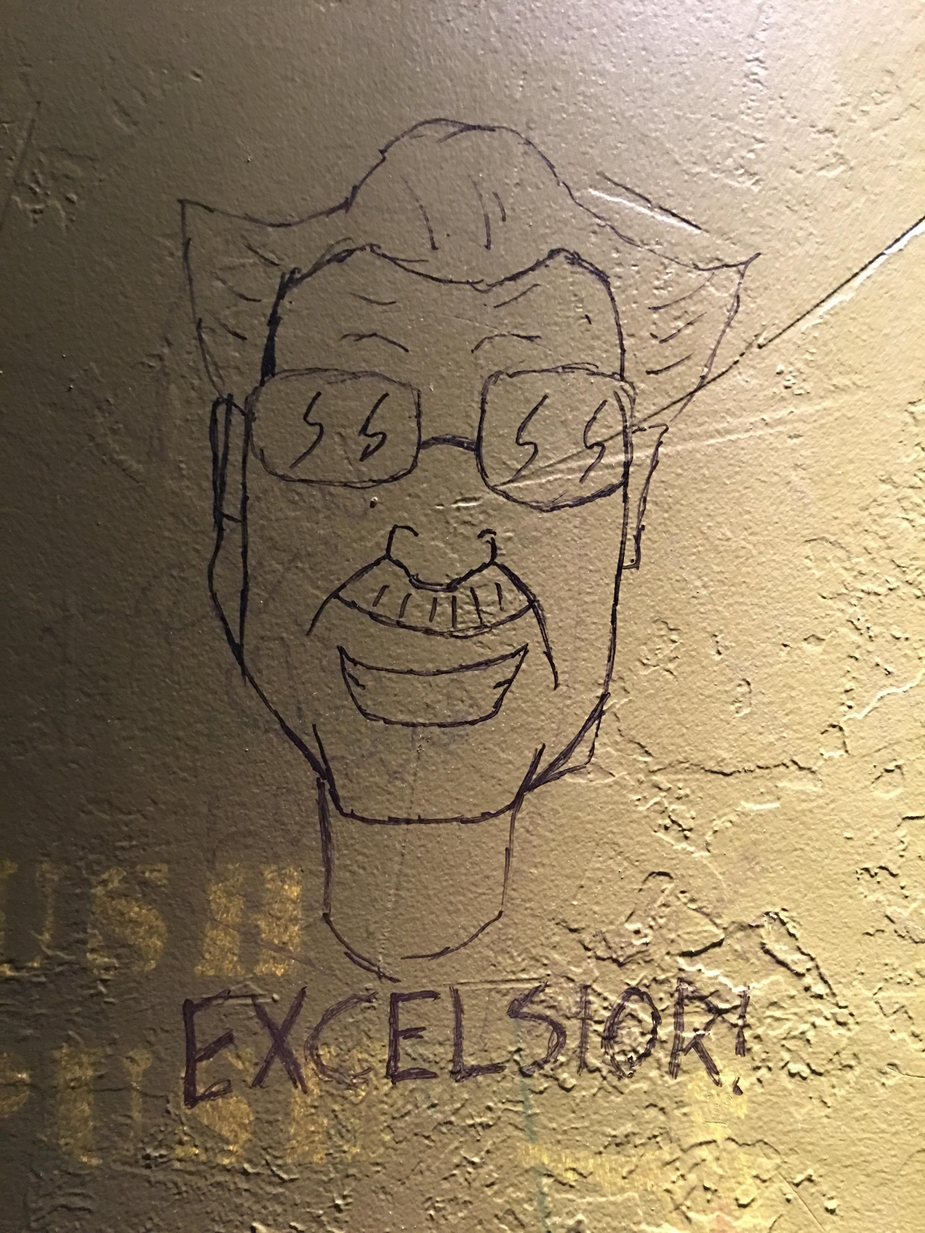 Excelsior Stan Lee Fanart