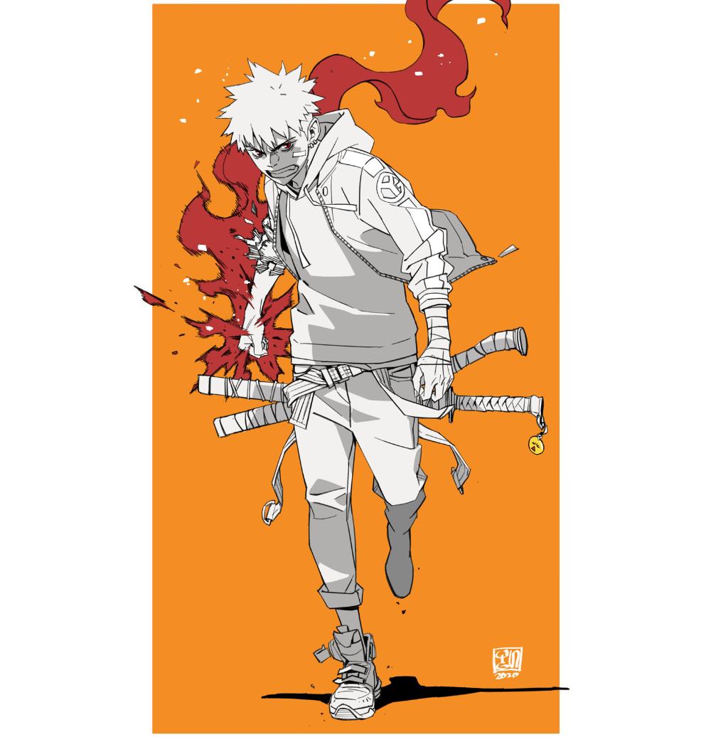 Artstation Fire Boy Yungun Yun Ikwon In 2020 Character Design Animation Anime Character Design Illustration Character Design