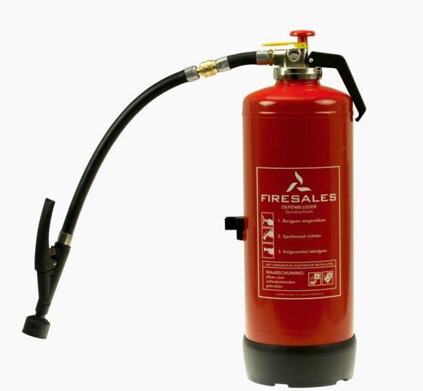 Extintores Rellenables De Maxpreven Solo Para Practicas De Extincion Una Forma Mas Economica Rellenables Con Agua Y Espuma Extintor Manometro Fuego