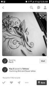 Photo of Exquisite hummingbird design  Exquisite hummingbird design    This image has get…