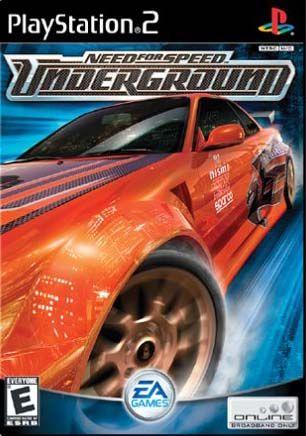 Box Art Ps2 Need For Speed Underground Google Search Need For Speed Games Speed Games Need For Speed